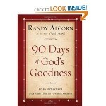 90 Days of Gods Goodness is very encouraging for Christian boomers and seniors dealing with pain and suffering while caring for elderly parents