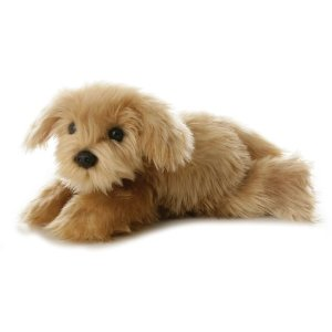 Cute Yorkipoo snuggle puppy dog toy for the grandkids