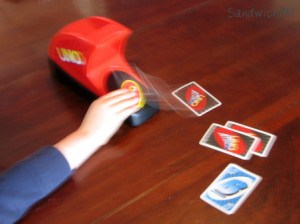 UNO Attack by Mattel Card Games is fun for grandparents and grandchildren