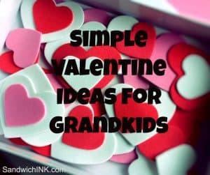 Simple Valentine Ideas Grandkids Granchildren
