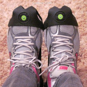 Spare Spikes allow you to wear tennis shoes that are easier on the feet than womens snow boots