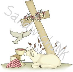 Christian Easter clipart and crafts are great resources for grannie nannies