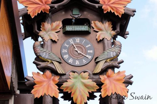 Cuckoo Clock time activities grandparents grandchildren