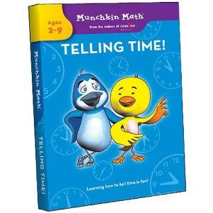 Munchkin Math Telling Time DVD
