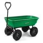 A utility garden wagon is great for fun and physical senior citizen activities like planting a raised beds vegetable garden