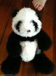 Panda Webkinz - This panda is another part of our fun Bible Memory Verses AND Webkinz activities for grandparents and their grandchildren