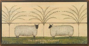 Psalm 23 The Lord is my Shepherd I shall not want Sheep - CGP