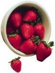 Strawberries are a simple elegant and healthy dessert for the never aging baby boomers generation caring for elderly parents