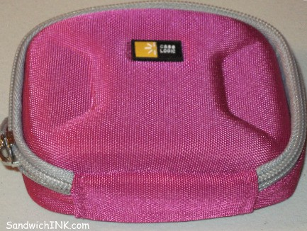 Bright pink canon digital powershot camera cases make it easier for these hate-to-admit-to-aging baby boomers generation eyes to find their easy to use digital camera