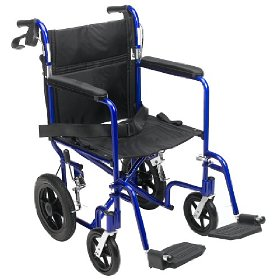 Lightweight Medline Transport Travel Wheelchairs