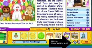 Woohoo! I have Webkinz Mail for my Webkinz Stuffed Virtual Animals