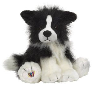 My border collie granddog looks a lot like these cute Webkinz border collie stuffed animals