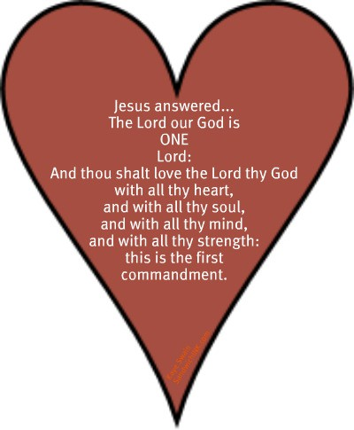 Wonderful Bible verses for children definitely include love the Lord your God with all your heart