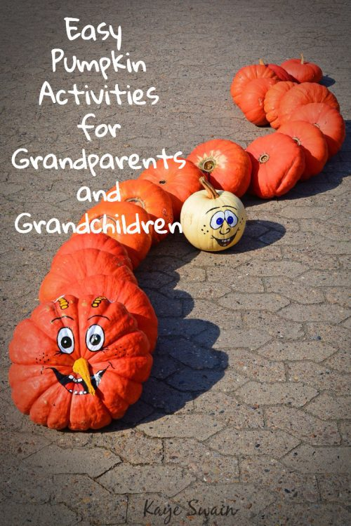 Easy Halloween Pumpkin Activities Grandparents and Grandchildren Enjoy