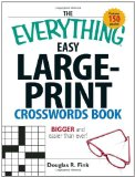 The Everything Easy Large Print Crossword Puzzle Book would make great gifts for the elderly parents in our Sandwich Generation family - how bout yours
