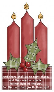 Advent candles and wreaths can remind the Sandwich Generation of the joys of Christmas and the joys of heaven to come