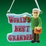 Personalized and unique Christmas ornaments make delightful gifts for the elderly parents in your family