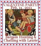 Valentine Fun for the Sandwich Generation at a Party at Bargain Hunting With Laurie