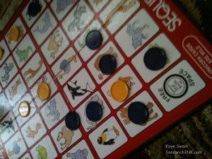 Fun board games activities for this Sandwich Generation granny nanny and her grandkids is Sequence the board game for kids