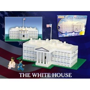 Use new and old LEGOs to build the White House or just buy the set from Amazon