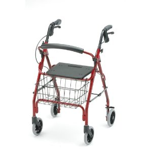 My senior dad loved his Nova rollator - one of many walking aids for seniors