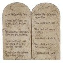 Christian Encouragement - The 10 Commandments Wall Art Plaque is a great reminder for the Sandwich Generation granny nanny grand kids & your grand children