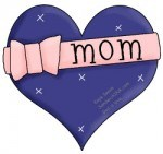 This Sandwich Generation granny nanny loves Happy Mothers Day clip art for the grandkids