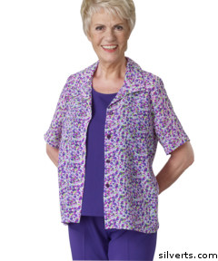 Love this purple and pink shirt - available in extra large at silverts - other sizes are available in other colors