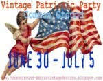 Red white and blue patriotic party blog fun for the Sandwich Generation at Uncommon Ground