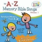 A - Z Bible Memory Verses for Children - cute praise and worship Scripture songs including the ten commandments song for kids