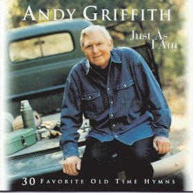 Delightful music news for many of us boomers and seniors - a lovely song and a lovely mp3 of two encouraging praise and worship hymn songs and music by favorite Andy Griffith
