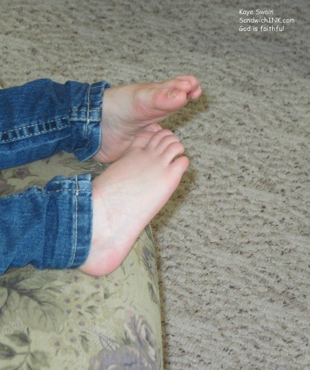 Everyone in my Sandwich Generation family loves jeans - including the grandkids and seniors - and most appreciate all elastic waist blue jeans - especially when we do not feel well