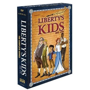 Libertys Kids is a fun tv series about the beginning of the US and the revolutionary war for kids