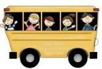 The Sandwich Generation granny nanny and grandkids love the Magic School Bus