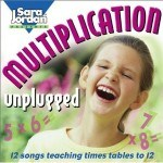 The Sandwich Generation granny nanny loved all the pink on this multiplication facts songs album cover