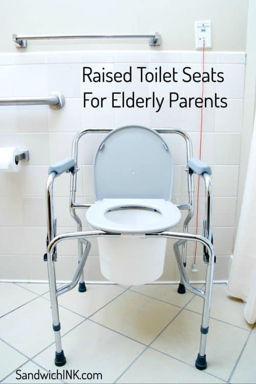 raised toilet seats elderly parents appreciate