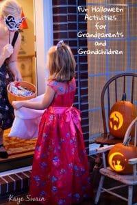 Fun Halloween Activities Grandparents Grandchildren