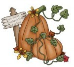 Happy holiday Autumn and fall fun clip art activities and ideas for the Sandwich Generation caring for elderly parents and babysitting grandchildren