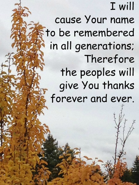 Leaving a sweet spiritual legacy for our children and grandchildren is a vital goal for the Sandwich Generation