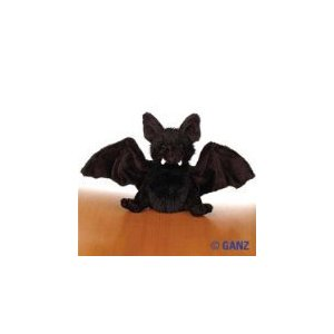 My grandkids love Webkinz stuffed animals - including their black bat - quite cute as long as he is this plush