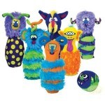 The Sandwich Generation granny nanny and grandkids love Melissa & Doug and this plush animals bowling set is perfect fun for Plush Animal Lover Day