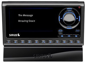 The Sandwich Generation granny nanny does like sirius satellite radio - online - in the car - in my iphone app - and even in a radio like this