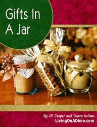 Gifts in a jar is full of great Christmas gifts for the whole Sandwich Generation family from the elderly on down - making for fun and easy crafts for kids and seniors