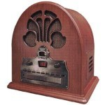 My senior mom and dad enjoyed listening to Frank Sinatra on an old radio like this