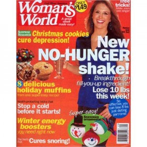 The Sandwich Generation granny nanny definitely recommends womans world weekly magazine with great recipes and easy crafts for kids thru seniors - and savings with a subscription