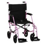 The Sandwich Generation granny nanny loves pink things like thise folding lightweight travel transport wheelchairs