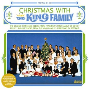 Christmas with the King Family on an audio cd is a fun treat for the whole Sandwich Generation family