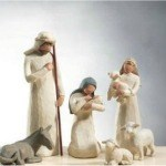 My Sandwich Generation family loves the Willow Tree indoor Christmas nativity sets with lovely figurines dec 4
