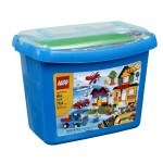 The Sandwich Generation granny nanny loves that her grandkids love old and new LEGOs - they prefer sets but enjoy the extras from buckets too