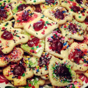 The Sandwich Generation granny nanny loves to enjoy the easy sugar cookies my long distance grandkids make - and no calories in the pictures